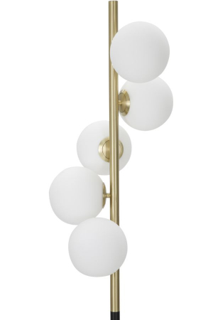 Lampadar  GLAMY DARK (cm) Ø 30x1601