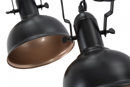 Lustra CUPS negru (cm) 96,5X16,5X84,55