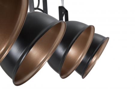 Lustra CUPS negru (cm) 96,5X16,5X84,53