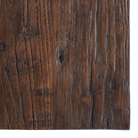 Masa Cromford Mill, Lemn/Metal, Maro/Bronz, 76x230x100 cm [2]