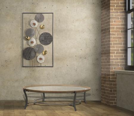 Masa de cafea GLASGOW (cm) Ø 106X438