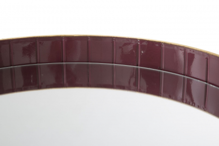 Masuta GLAM BORDEAUX (cm) Ø 60X605