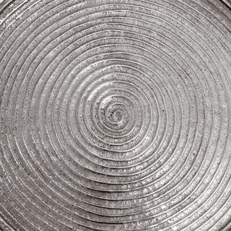 Masuta rotunda ORBA, aluminiu/nichel, 55x40 cm4