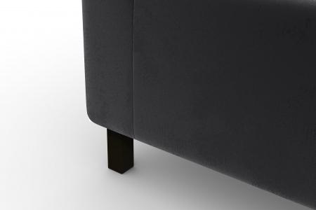 Modul de mijloc Tina, Gri inchis, 105x82x88 cm6