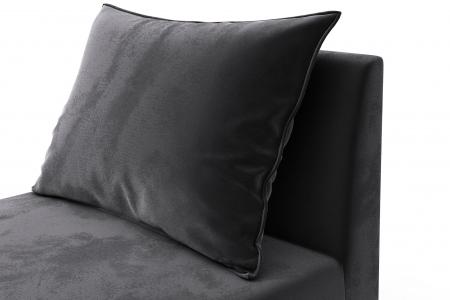 Modul de mijloc Tina, Gri inchis, 105x82x88 cm5
