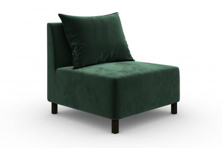 Modul de mijloc Tina, Verde inchis, 105x82x88 cm0