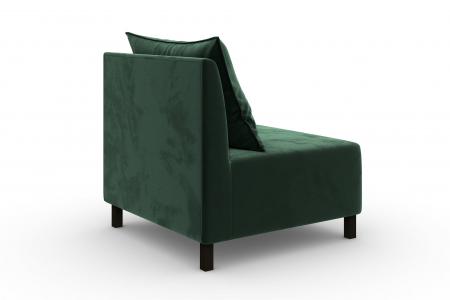 Modul de mijloc Tina, Verde inchis, 105x82x88 cm3