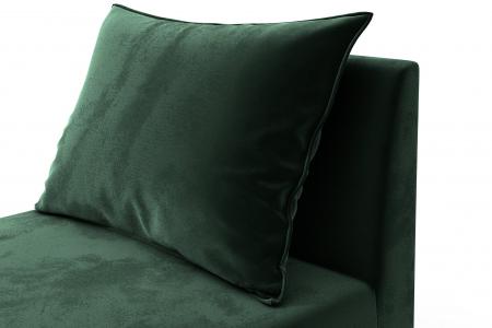 Modul de mijloc Tina, Verde inchis, 105x82x88 cm5