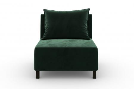 Modul de mijloc Tina, Verde inchis, 105x82x88 cm1