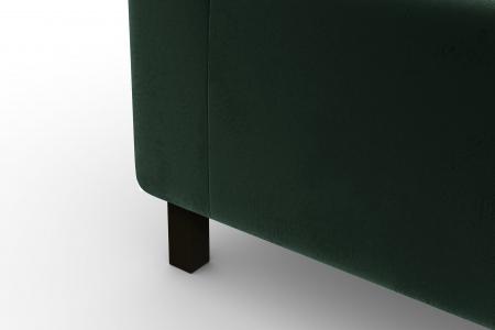 Modul de mijloc Tina, Verde inchis, 105x82x88 cm6