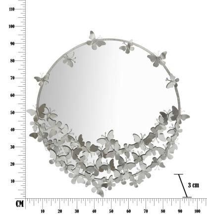 Oglinda BUTTERFLY (cm) Ø 91X3X946