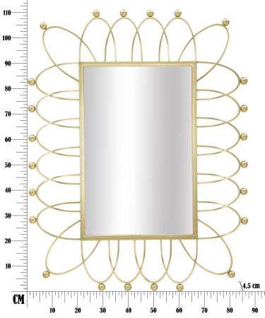 Oglinda de perete AMELIE, 86.5X4.5X111 cm, Mauro Ferretti8