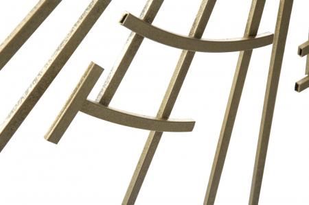 Oglinda de perete DIXY, 105X2 cm, Mauro Ferretti4
