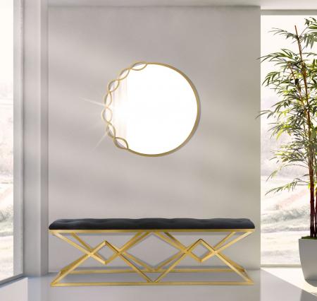 Oglinda de perete ELEONOR, 72x2 cm, Mauro Ferretti5