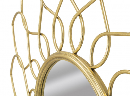 Oglinda de perete GLAM GIRG, 90X5 cm, Mauro Ferretti3
