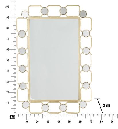 Oglinda de perete GLOSH, 71X2X102 cm, Mauro Ferretti9