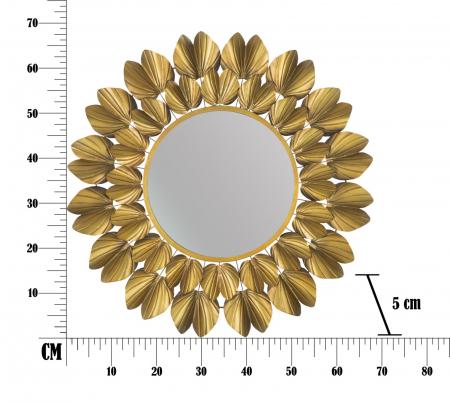 Oglinda de perete GOLDY, 78.5X5 cm, Mauro Ferretti9