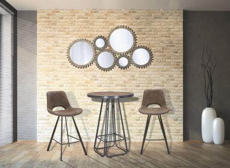 Oglinda de perete INGRANAGGIO, 137X3X73.50 CM, Mauro Ferretti8