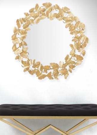 Oglinda de perete LEAF, 87X2.5 cm, Mauro Ferretti5