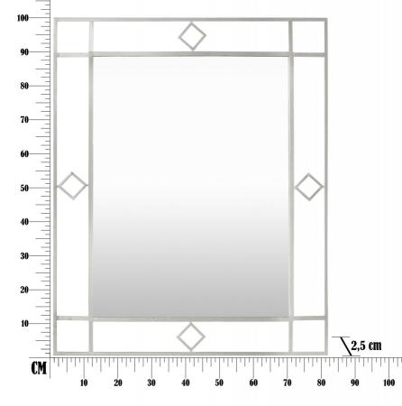 Oglinda de perete OSLO, 80X2.5X100 cm, Mauro Ferretti5