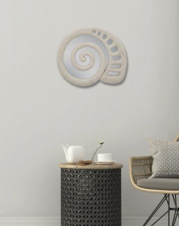 Oglinda de perete SHELL, 32.5X2X27.5 cm, Mauro Ferretti6