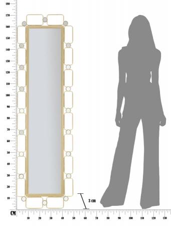 Oglinda de podea GLOSH, 50X3X170 cm, Mauro Ferretti9
