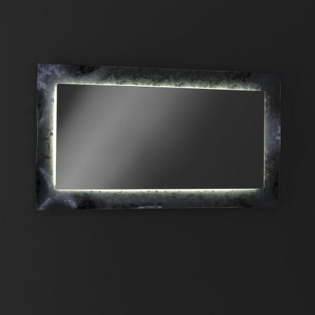 Oglinda ELE, Sticla/Abs, Gri, 65x3x120 cm3