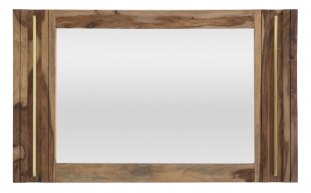 Oglinda ELEGANT, lemn masiv sheesham, 120X3X73 cm, Mauro Ferretti0