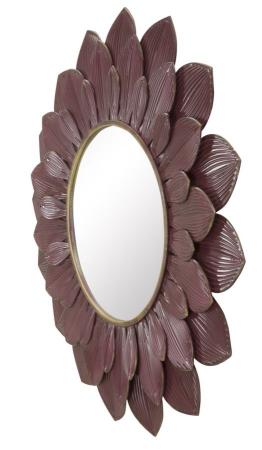 Oglinda GLAM BORDEAUX (cm) Ø 100X4,52
