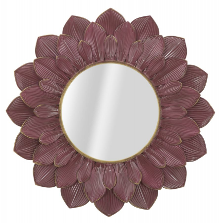 Oglinda GLAM BORDEAUX (cm) Ø 100X4,50