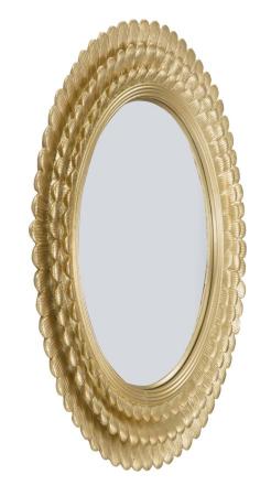 Oglinda GLAM LAMIN (cm) Ø 43X1,8 [1]