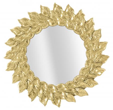 Oglinda GLAM PETAL (cm) Ø 73X50