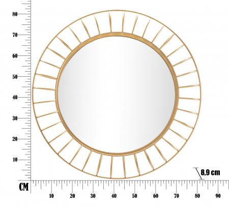 Oglinda GLAM RING CM Ø 81X8,9 (oglinda CM Ø 55), Mauro Ferretti5