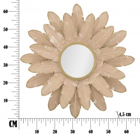 Oglinda GLAM ROSE (cm) 64,5X4,58