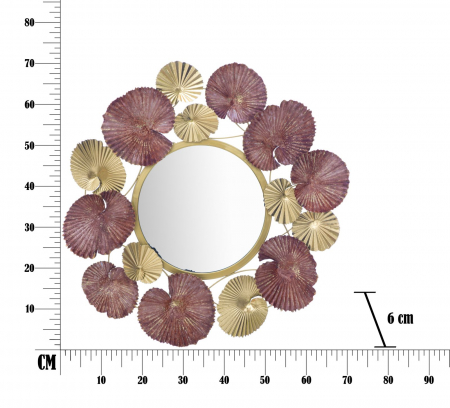 Oglinda LEAF (cm) 71X6X69,56