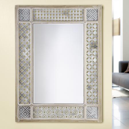 Oglinda MAGHREB, MDF/sticla, 60X4X80cm0