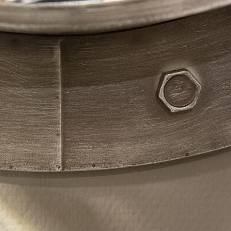 Oglinda HARBOUR, metal, 76x8 cm1