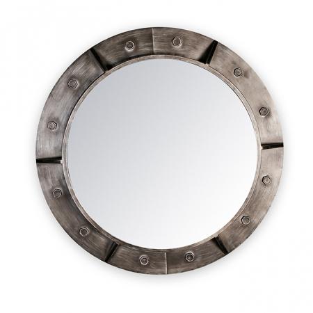 Oglinda HARBOUR, metal, 76x8 cm0