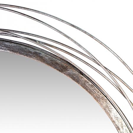 Oglinda PURELY LEAVES, metal, 68x63x7,5 cm [2]