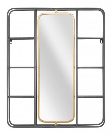 Oglinda cu rafturi INDUSTRY CM 62,5X12X74,5, Mauro Ferretti [0]