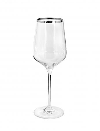 Pahar pentru vin PLATINUM, sticla, 25x9 cm0