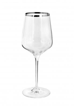 Pahar pentru vin PLATINUM, sticla, 27x10cm0