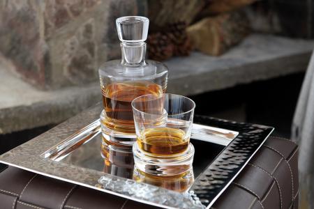 Pahar pentru whisky BOSTON, sticla, 10.5x10 cm2