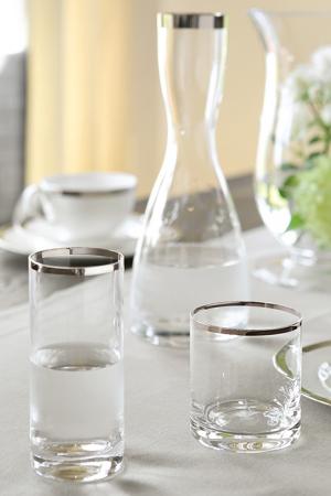 Pahar PLATINUM, sticla, 14.5x6.5 cm1