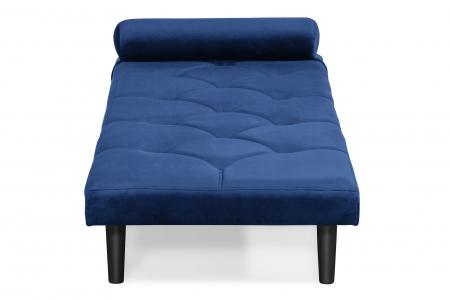 Pat de zi Diana, Albastru, 185x40x75 cm2