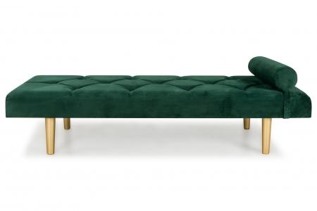 Pat de zi Diana, Verde inchis, 185x40x75 cm1