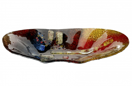 Platou SOLEIL, sticla, 49x27x9.5 cm [1]