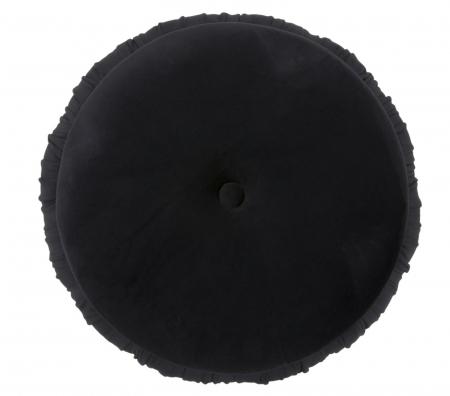 Puf cu spatiu depozitare PARIS, negru, 41X41 cm, Mauro Ferretti5