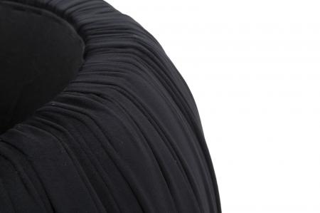 Puf cu spatiu depozitare PARIS, negru, 41X41 cm, Mauro Ferretti7