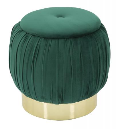 Puf cu spatiu depozitare PARIS, verde, 41X41 cm, Mauro Ferretti0